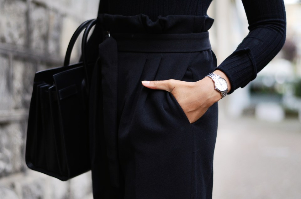 mercredie-blog-mode-geneve-suisse-fashion-blogger-all-black-outfit-chic-saint-laurent-sac-de-jour-black-matte-seiko-ultra-thin-ladies-quartz-sxb429p1