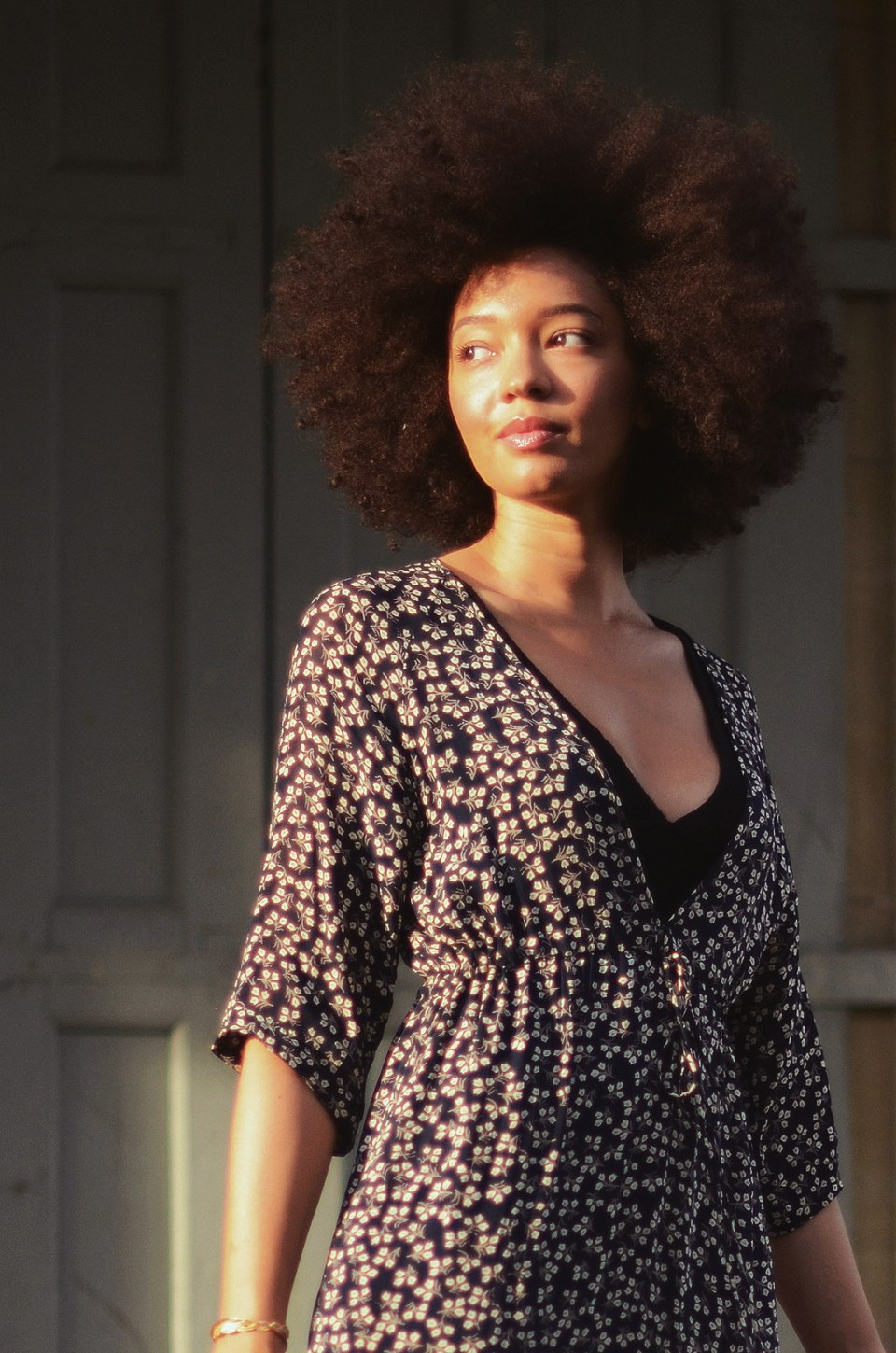 mercredie-blog-mode-geneve-blogueuse-bloggeuse-suisse-swiss-switzerland-robe-ganni-dress-floral-afro-hair-nappy-curly-curls-big-fro-cheveux-frises2-2