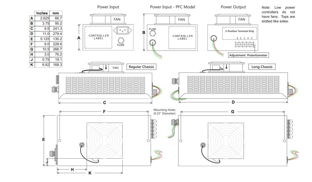medium resolution of mechanical specifications