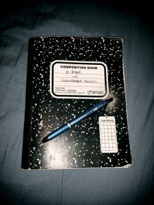 my notebook & pen