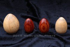 Dogwood and Tulipwood Eggs