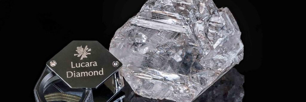 The 1111-carat Lesedi La Rona diamond