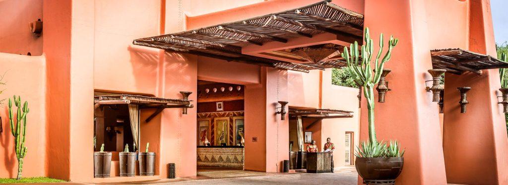 Avani Victoria Falls Resort lobby entrance