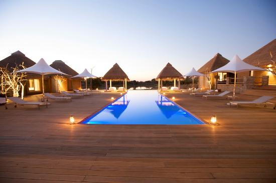 Kapama River Lodge Wellness Centre pool deck