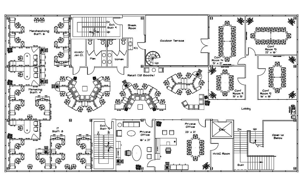 Valentine One: Office Space Planning