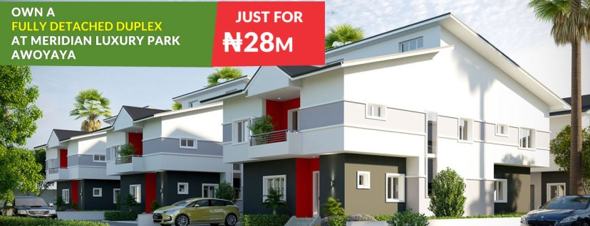 Lekki Gardens Awoyaya - The Meridian detached