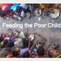 feeding the village children.-001