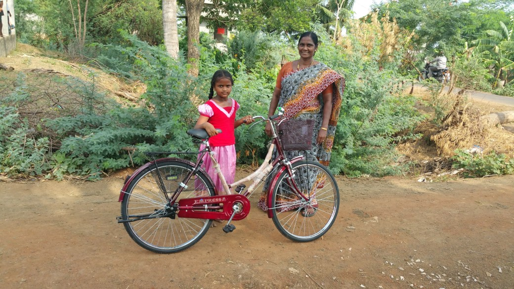 Bicycles to Girls.