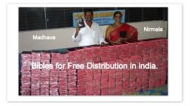 Nirmala & Madhava - Bibles Project.