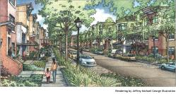 Rendering of Sunnydale development