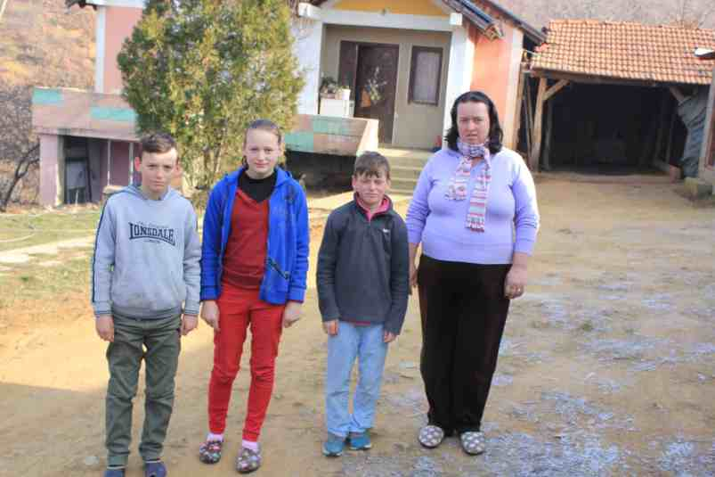 widow Ajne in Kosovo