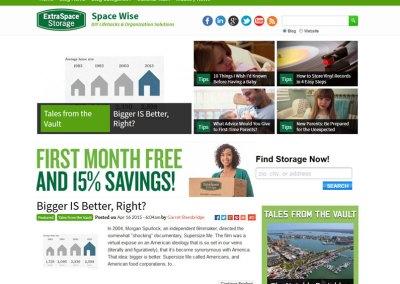 Storage Blog Redesign