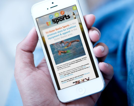 Mobile responsive view