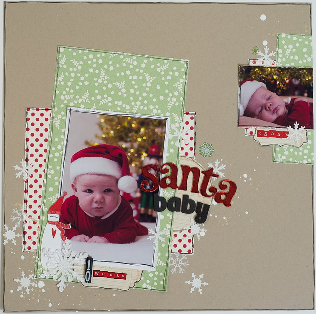Santa Baby 12x12