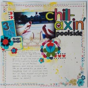 Chillaxin' Poolside