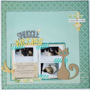 Snuggle Kitties layout