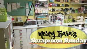 Detailed Scraproom Tour Part 2: embellishments, scraps, and more
