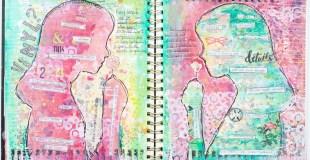 Art Journal Process: Vinyl?