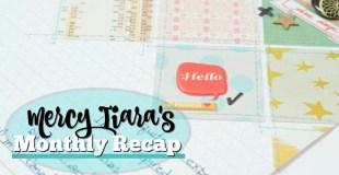 Scrapbooking Recap: June, 2017