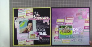 Summer Lights Layout Share (2 layouts)