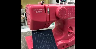 Janome New Home Sewing Machine