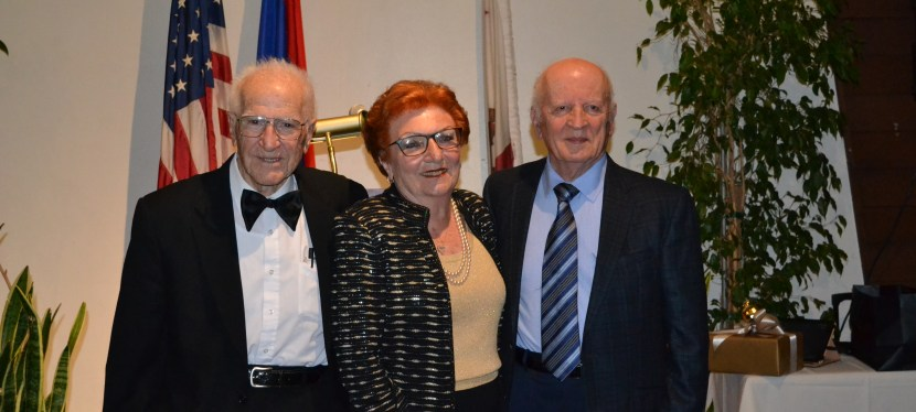 Dr. Daniel and Juliette Abdulian Honored at Merdinian 37th Annual Banquet
