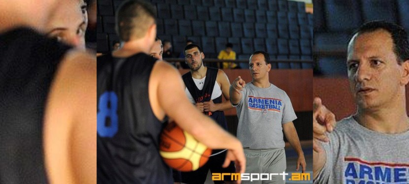 Our Athletic Director and Head Coach, Zorik Isajane Named Armenia's U16 Boys Basketball Head Coach