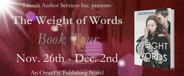 ARC Review+GIVEAWAY: The Weight of Words by Georgina Guthrie