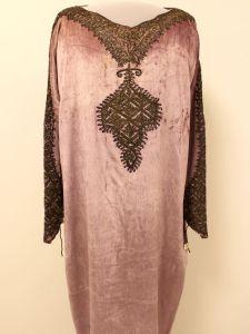 Dress worn by poet Edna St. Vincent Millay