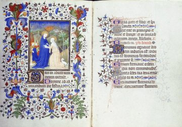 An Illuminated text from 15th Century France.