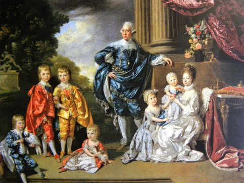 King George III and Family