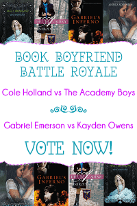 Book Boyfriend Battle Royale – Swoony 16! Matches 5 & 6! VOTE NOW!