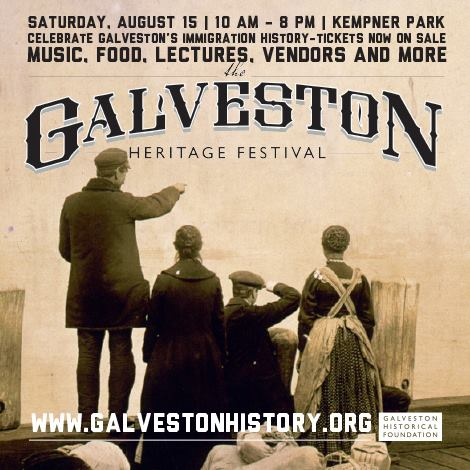 Galveston Heritage Festival Banner