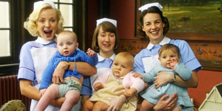 Check out the engrossing BBC series Call the Midwives on Netflix.