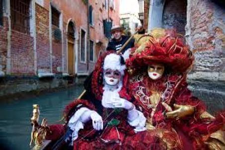 Carnivale Boat Venice