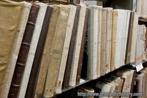 library archives