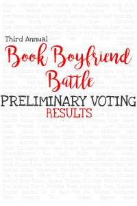 The Top 64 Book Boyfriends moving on to the BOOK BOYFRIEND BATTLE!