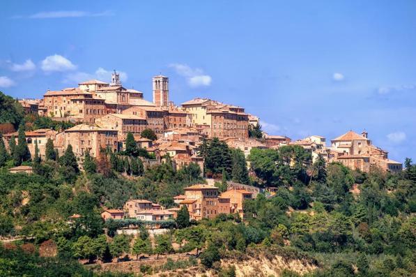 Montepulcian, Tuscany, Italia
