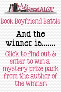 Book Boyfriend Battle  – And the winner is… + Giveaway!
