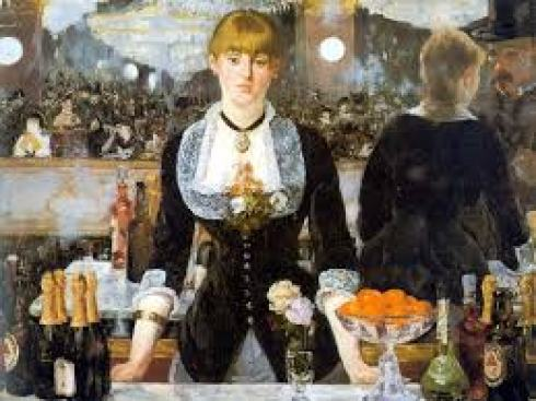 A Bar at the Folies Bergere- Manet
