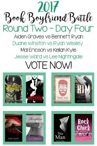 Book Boyfriend Battle – Second Round – Day Four
