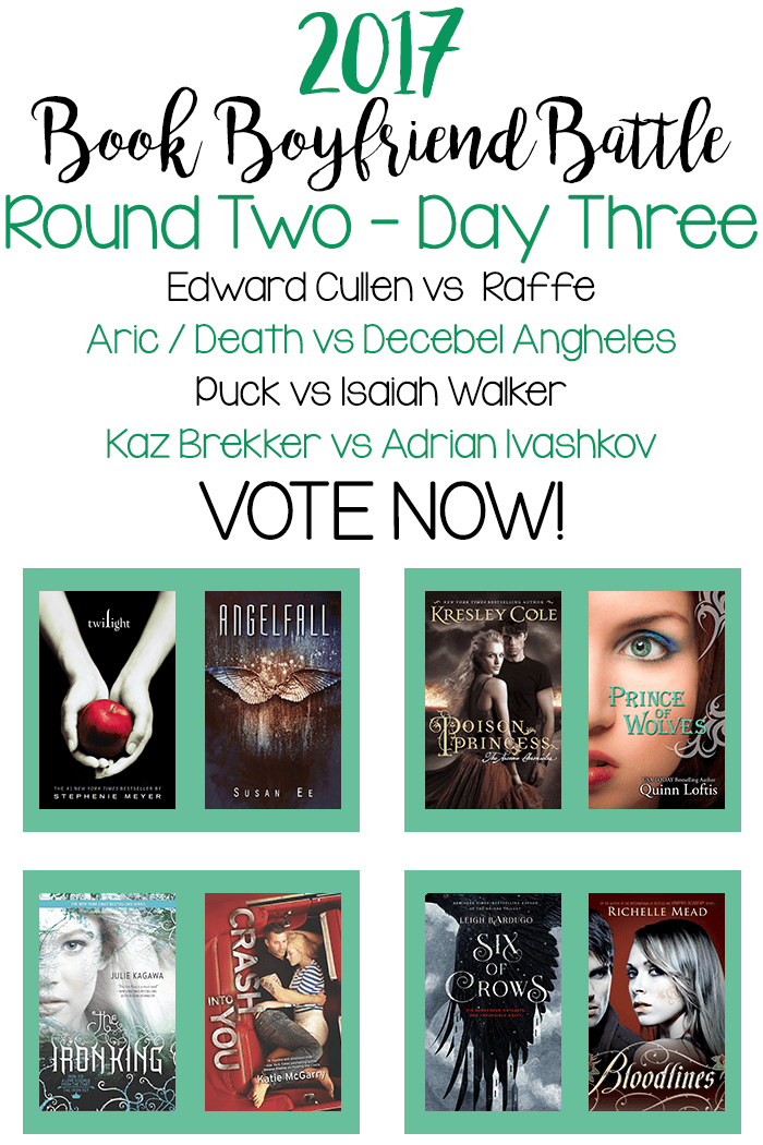 Book Boyfriend Battle - Second Round - Day Three