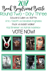 Book Boyfriend Battle – Second Round – Day Three