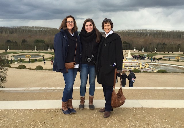 Three Genereations at Versailles