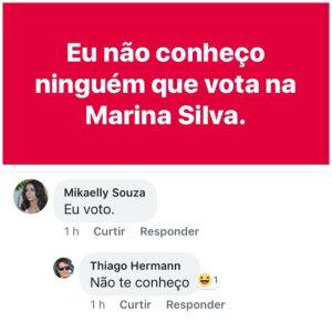 Alguem vota na Marina Silva