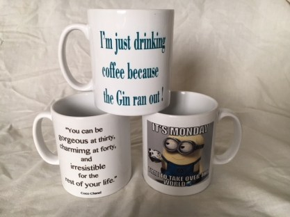 Man Cave Made Printed Mugs