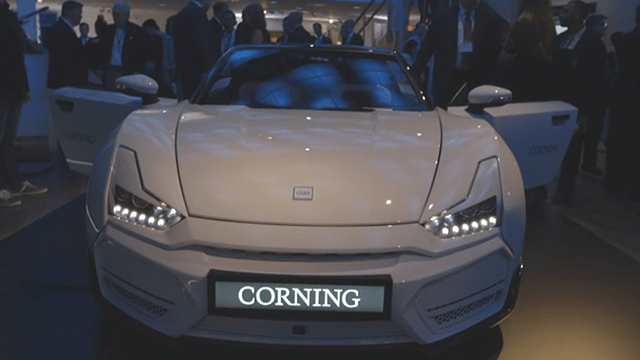 Corning's Glassfull Concept Car  Wsmv News 4