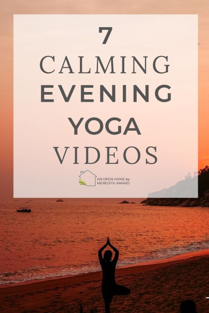 Calming Evening Yoga Videos
