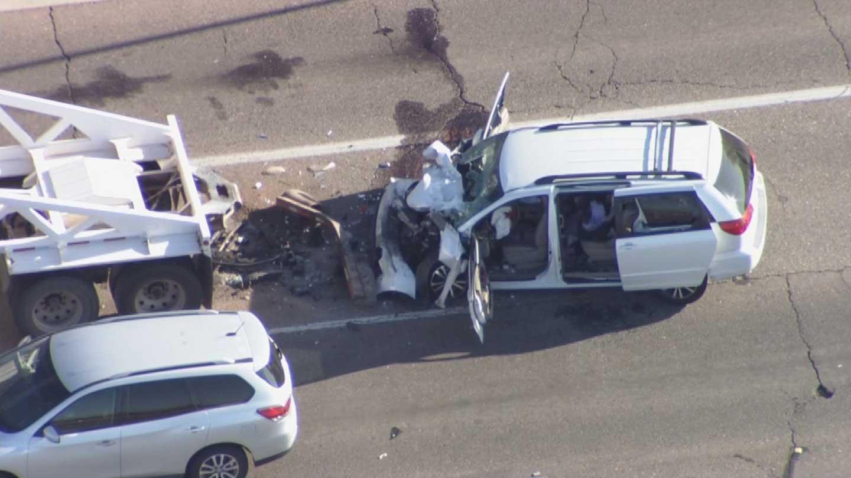 Minivan driver killed in Ahwatukeearea crash may have