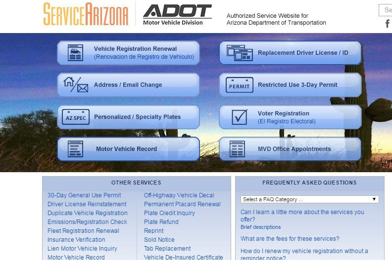 ADOT You can now print duplicate temp driver licenses or